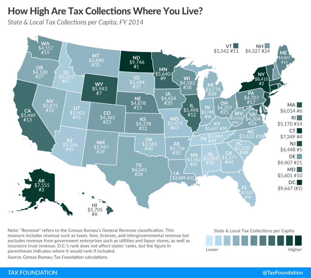 Tax reform and real estate: Property tax collections by state